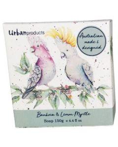 Banksia & Lemon Myrtle Soap - Australian Birds - 150g