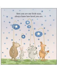 BABY - 'Here you are our little star...'