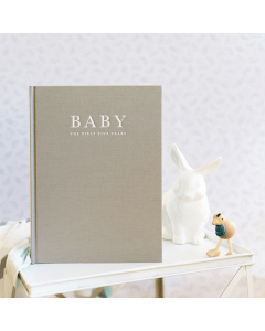 Baby Journal Grey - The First Five Years