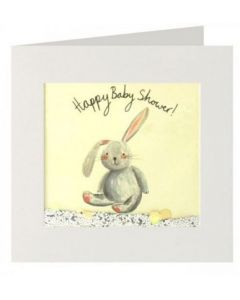 Baby Shower - Bunny with floppy ear