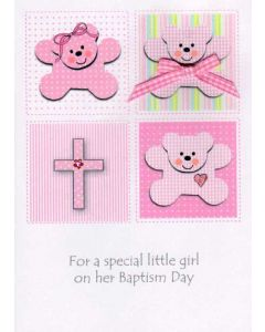 For A Special Little Girl On Her Baptism Day