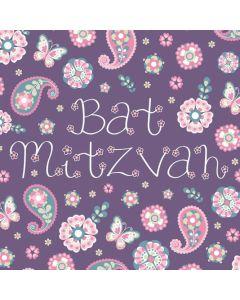 Bat Mitzvah - Patterns on purple