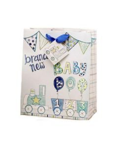 Baby Boy Medium Gift Bag