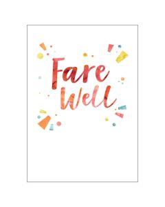 BIG Card - Farewell