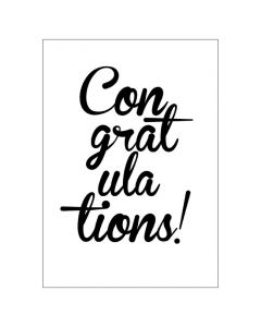 'Congratulations' BIG Card
