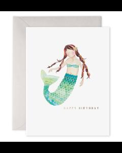 Birthday Card - Mermaid