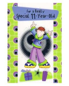 'For A Really Special 11-Year-Old' Card