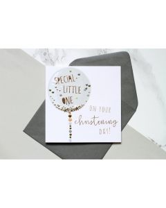 'Special Little One On Your Christening Day' Card