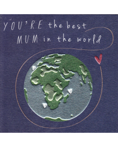 'You're the Best Mum in the World' Card