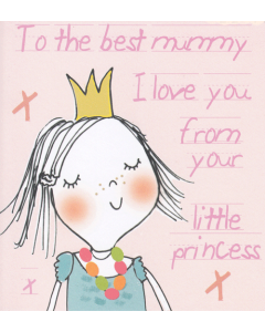 'To the Best Mummy..' Card