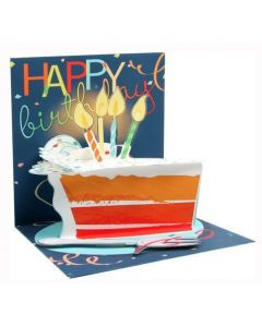 3D Pop-Up Card - Birthday Cake