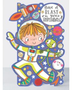 Birthday - 'Have a blast' astronaut