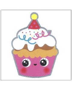 Birthday Cupcake Card