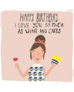 Birthday - Wine and Carbs