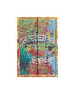 2022 DIARY - Monet Bridge Letter to Morisot MINI Paperblanks