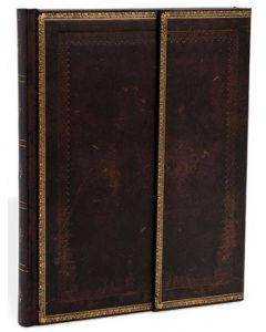 Black Moroccan - ULTRA size Unlined Journal