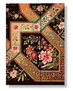 Filigree Floral Ebony - Midi Address Book