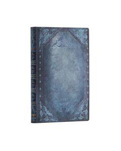 2021 Mini Flexi Diary - Peacock Punk Bold