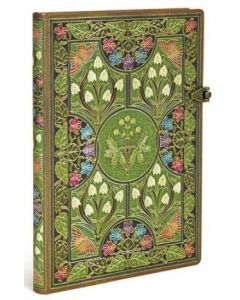 Poetry in Bloom - Midi size Lined Journal