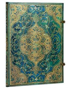 Turquoise Chronicles - Grande size Unlined Journal