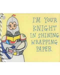 Gift Tag - Knight in Shining Wrapping Paper