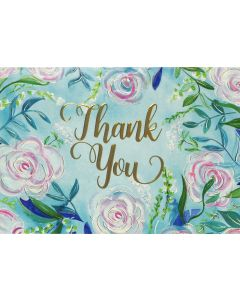 Boxed Thank You Cards - Blue Dreams