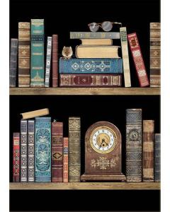Bookshelves Card