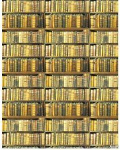 Folded Wrapping Paper - Bookshelf