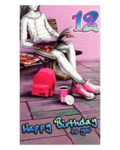 '12 Happy Birthday to You' Card