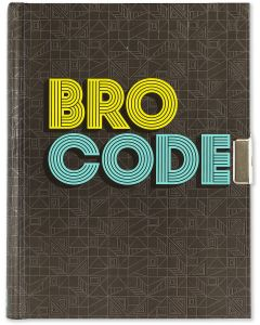 BRO CODE - Lockable Journal