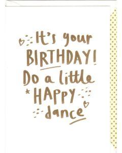 Birthday Card - Happy Dance