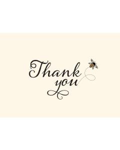Bumblebee Thank You Notecard Box