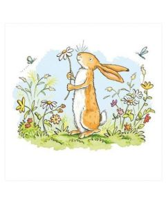 Greeting Card - Bunny in Garden