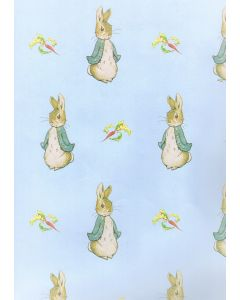Folded Wrapping Paper - Peter Rabbit
