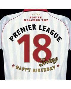 '18' Premier League Card