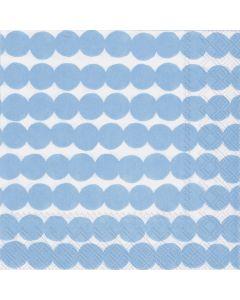 Cocktail Napkins - Rasymatto Blue by MARIMEKKO (Pack of 20)