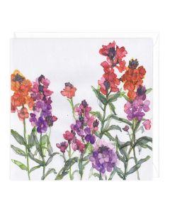 Greeting Card - Mixed Wallflowers