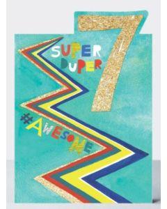 AGE 7 - 'Super Duper 7'