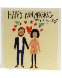 Our Anniversary -'Fancy a quicky?