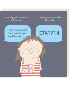Greeting Card - Before Kids/After Kids