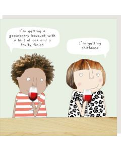 Greeting Card - Wine Tasting