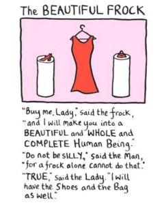 The Beautiful Frock - Dress, shoes, bag