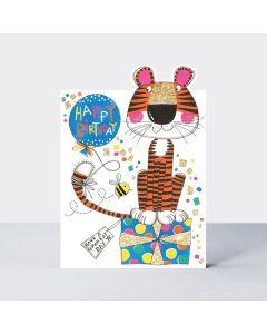 Birthday - Tiger & a bee