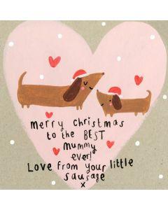 Christmas - MUMMY sausage dogs