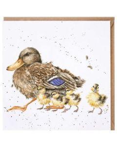 Greeting Card - Ducklings