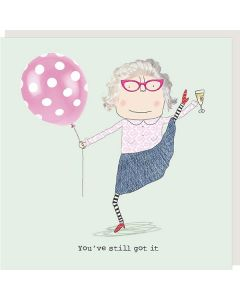 BIRTHDAY card - Still got it