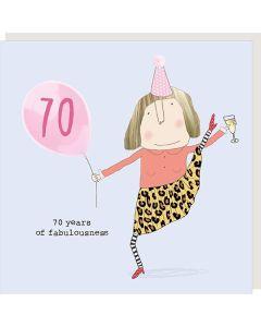 70th BIRTHDAY - Splits 'fabulousness'