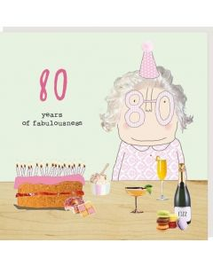 80th Birthday - '80 years of fabulousness'