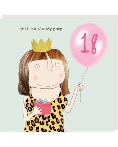 AGE 18 - No bloody pony