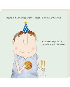DAD Card - Birthday Secret